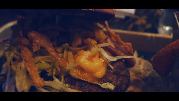 Las Vegas Day 3: Fremont Street Experience, Gourmet Hot Dogs, & Guy Fieri Burgers