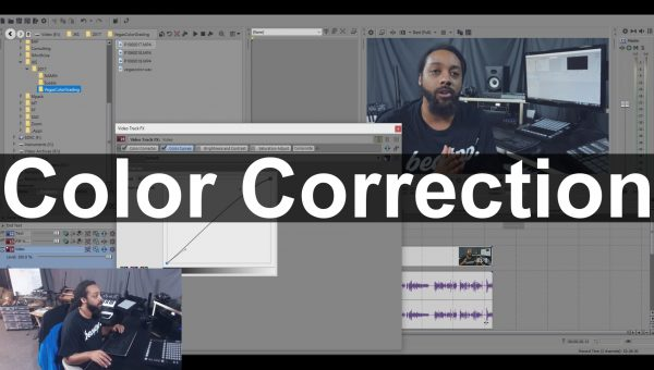 Basic Video Color Correction In Vegas Pro 14