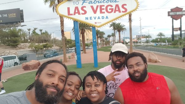 Took the Whole Fam to Las Vegas