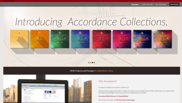 Bible Study Software – Why I Like Accordance 12